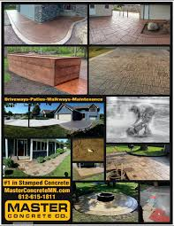 Stamped Concrete Patio Maintenance Master Concrete Company Stamped Concrete Custom Concrete Floors