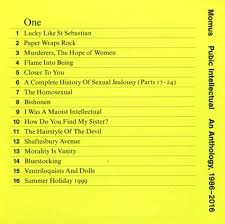 the hairstyle of the devil cd album momus pubic intellectual an anthology 1986 2016