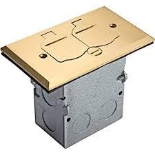 floor box flip open lid kit by enerlites 705507 c electrical