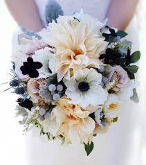 wedding flowers in october sunday bouquet winter wedding bouquet with anemones dahlias and