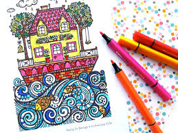 8 cool summer coloring pages teens tweens prevent