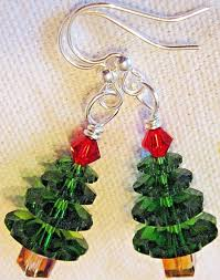 trees leaves acorns fall winter and more by kirsten earrings