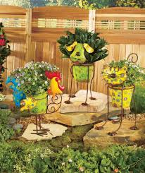 simple metal garden flowers outdoor decor 62 within home decor