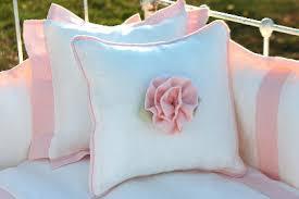 Roses Crib Bedding Lulla Smith Baby Bedding Anjou Linen Set Laundered Linens