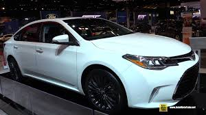 toyota avalon 2016 toyota avalon touring exterior and interior walkaround