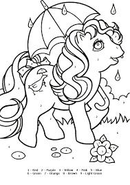 color number coloring pages numbers color print kids