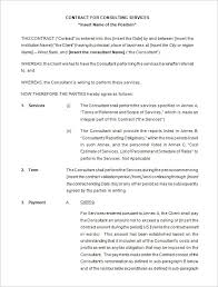consulting agreement form acquisition confidentiality agreement