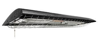 heat l ceiling fixture 88 designers edge l 185 combination shop light and heat l 8
