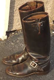 engineer boots vintage engineer boots pre 1955 tall chippewa engineer boots