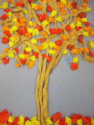 paper bag tree craft laura williams