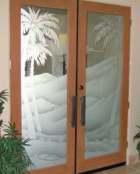 frosted glass sliding interior door designs for homes with cream