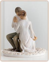 willow tree wedding cake topper figurine willow tree quot promise