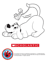 clifford the big red dog coloring pages wallpaper download