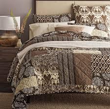 Zanzibar Bedding Set Zanibar Patchwork Quilt The Company Store
