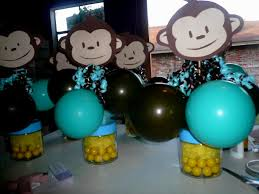 monkey baby shower decorations decorating of party