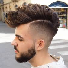 fade haircut black men rear updos for short hair