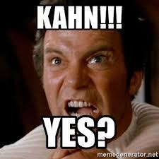 Kirk Meme - captain kirk khan meme generator mne vse pohuj