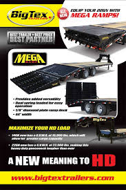 big tex trailers new the big tex trailer mega ramp big tex