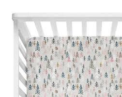 Organic Crib Bedding by Tree Crib Sheet Etsy