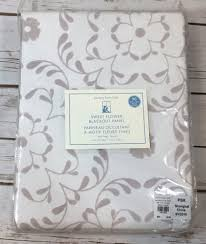 Curtains Pottery Barn by New Pottery Barn Kids Sweet Flower Blackout Curtain Panel Flocked