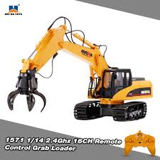 huina toys 1571 1 14 2 4ghz 16ch remote control grab loader sales