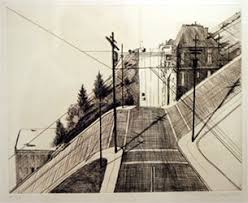 Wayne Thiebaud Landscapes by Writedesignonline Thiebaud Wayne Drawing Prompt