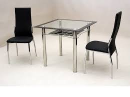 Chair Picturesque Impressive Small Dining Table With  Chairs - Kitchen glass table
