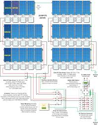 solar panel grid tie wiring diagram inverter schematic incredible