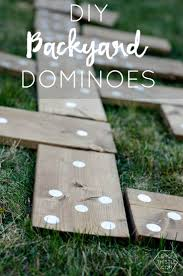 diy yard games i love this i u0027ve seen jenga but it u0027s so much fun