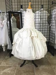 christie helene communion dress christie helene kaylea silk communion dress flower girl wedding