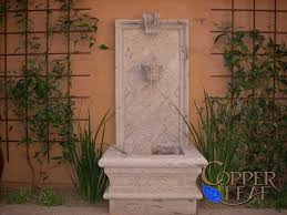 exterior contemporary grey stone three layers fountain in the