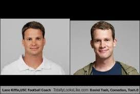 Tosh 0 Meme - lane kiffin usc football coach totally looks like daniel tosh