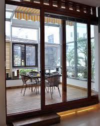 Patio Door Design Decorations Modern Aluminium Sliding Patio Door Design With