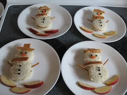 almost unschoolers simple christmas themed lunch making