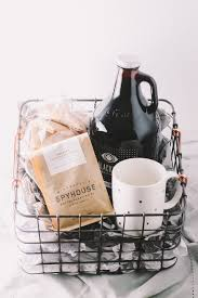 coffee gift basket coffee gift basket for the holidays via playswellwithbutter