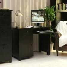Small Dark Wood Desk Executive Office Desk Suite In Dark Cherry Wood For Stylish
