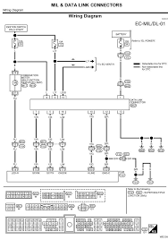 100 obd2 wiring diagram nissan sentra the ecu does not make