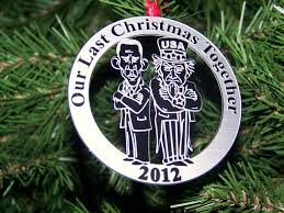 looking for a unique gift idea breakup ornaments make great