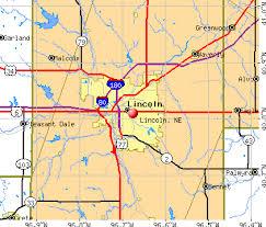 lincoln city map lincoln nebraska ne profile population maps estate