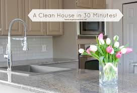 how to clean your house in 30 minutes or less the organized mom
