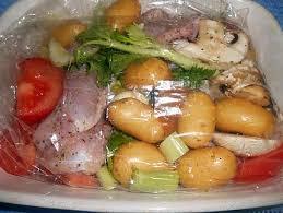 recette cuisine au four recette de pattes de lapin en sachet cuisson cuites au four