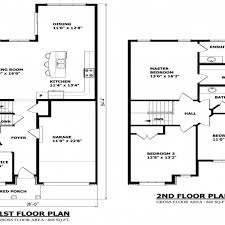 two floor plan easy to build 2 house plans unique storey 4 2