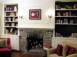 how to make built in bookshelves hgtv building bookshelves