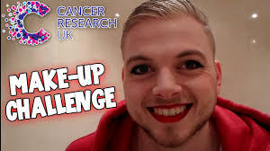 Challenge Up Nose Squiddyvlogs Make Up Challenge Cancer Research