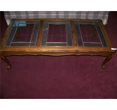 claw foot table with glass balls in the claw vintage oak glass top coffee table w ball claw feet