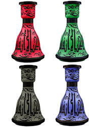 Hookah Vase Replacement Egyptian Luxor Glass Hookah Vase At Hookah Company