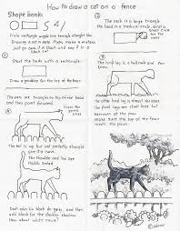how to draw worksheets for the young artist how to draw a black