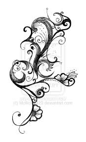 two tribal lily tattoo designs photo 9 real photo pictures