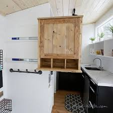 tiny house slide out slide out entry pantry cabinet for tiny house liberty hardware