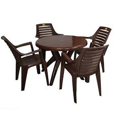 plastic table with chairs stylish plastic chair set at rs 1489 set plastic chairs id